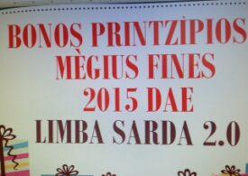 Bonos printzìpios e mègius fines pro s'annu nou 2015
