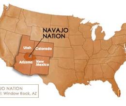 Limba e natzione navajo in sa democratzia americana