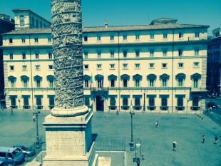 Sede de su guvernu italianu- Pratza Colonna - Roma