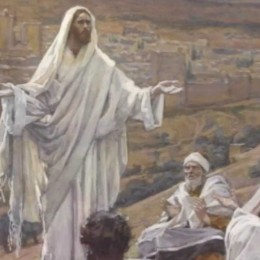 S'Evangèliu de oe domìniga IV de su tempus ordinàriu