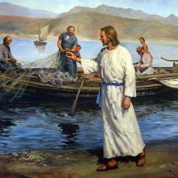S'evangèliu de sa V domìniga de su tempus ordinàriu