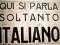 "Sos fascistas noos narant: ""ma cale sardu, we need english"""