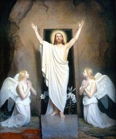 Resurretzione. Gesùs essit dae su sepulcru