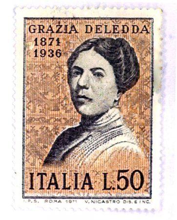 deledda-francobollo