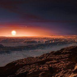 Proxima b, su pianeta pedrosu a curtzu nostru