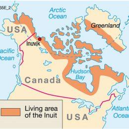 1 mapa Inuit