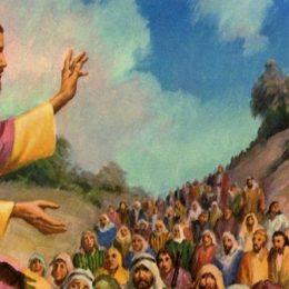 Gesus faeddat dae su monte