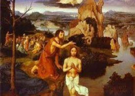 Evangèliu segundu Mateu [Mt 3, 13-17]