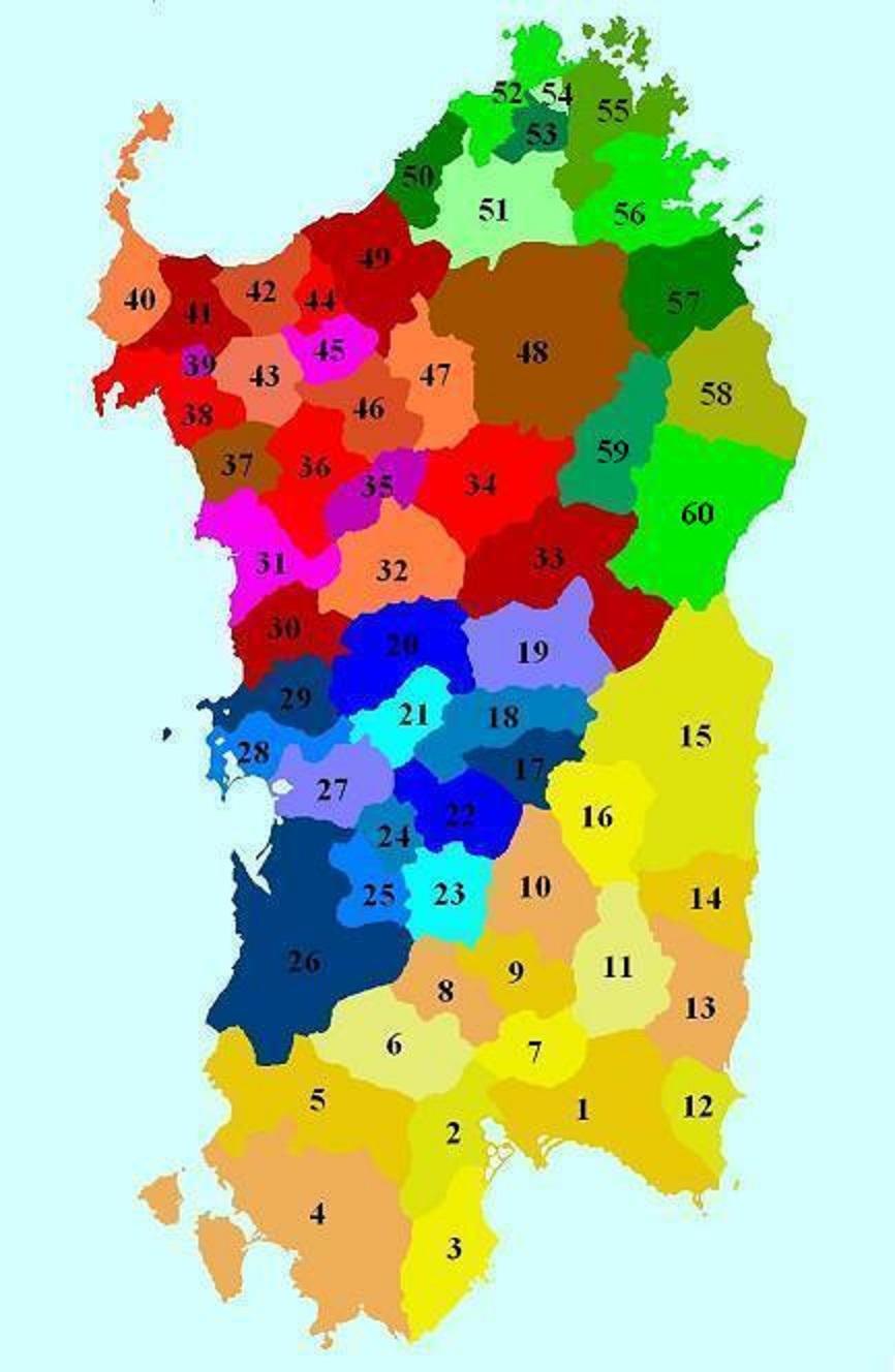 Sas Curadorias, autonomias locales de s'Edade Mèdia