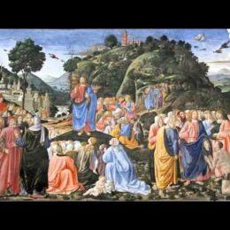 1 Evangèliu segundu Mateu [Mt 5, 13-16]