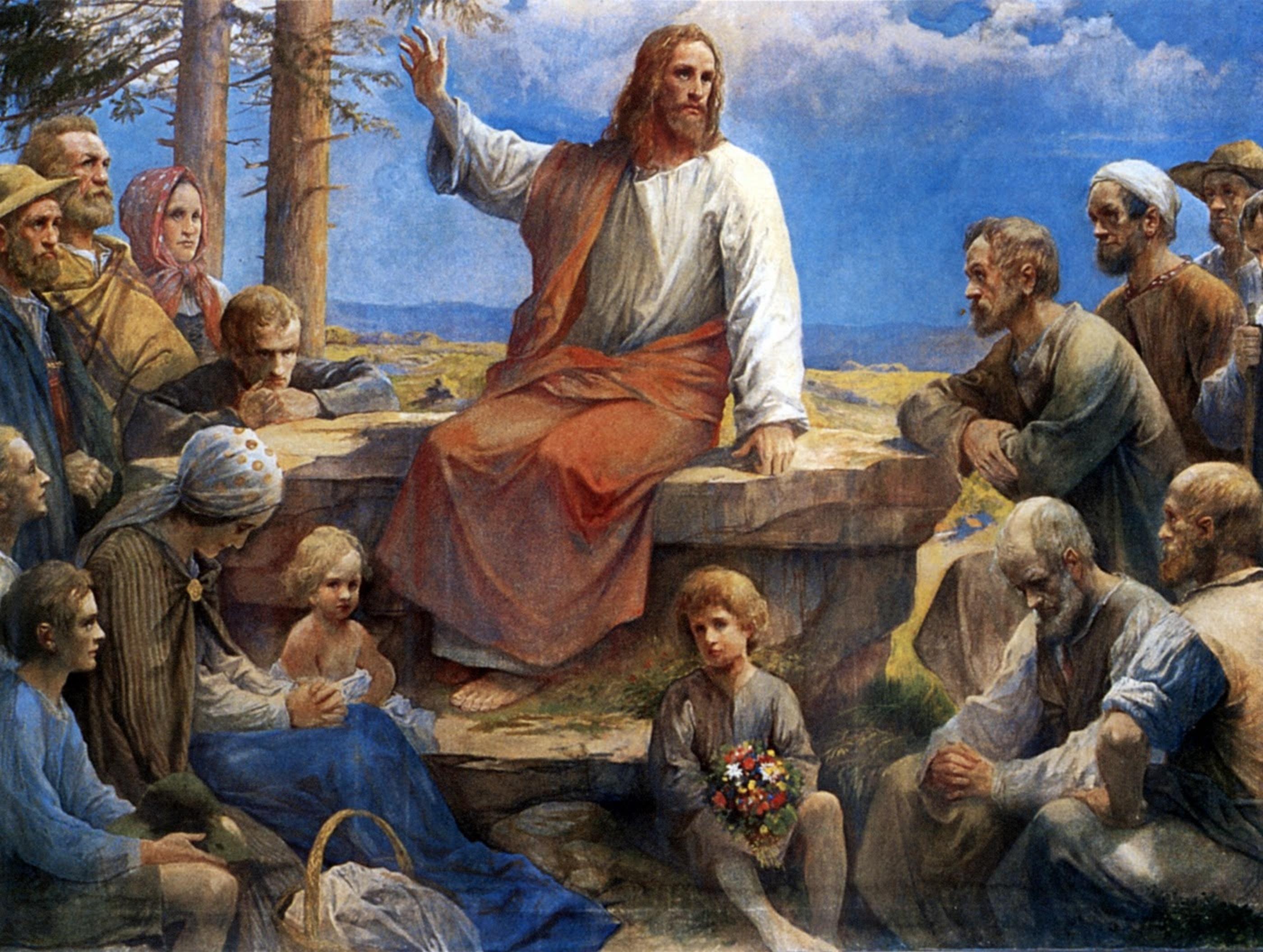 Evangèliu segundu Mateu 5,38-48