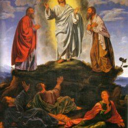 Evangèliu segundu Mateu [Mt, 17 1-9]