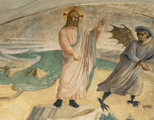 Evangèliu segundu Mateu [Mt 4, 1-11]