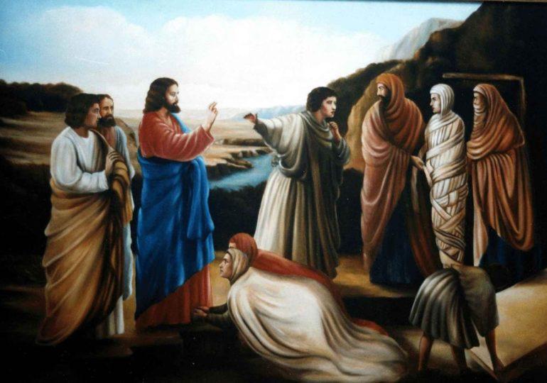 Evangèliu segundu Giuanne [G 11, 1-45]