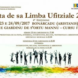 Sos temas de sa Festa de sa Limba Ufitziale de Bonàrcadu