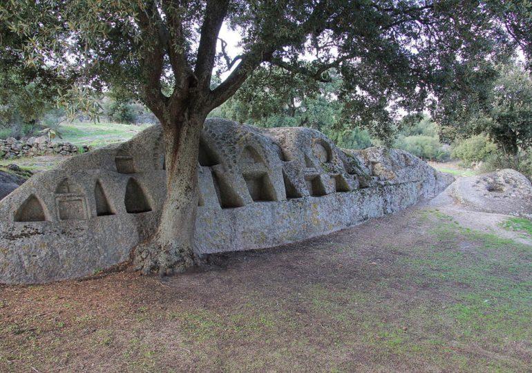 Su giassu archeològicu de Santu Istèvene de Òschiri