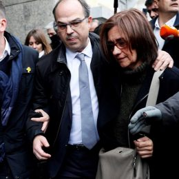 Solidaridade cun sos presoneris polìticos catalanos