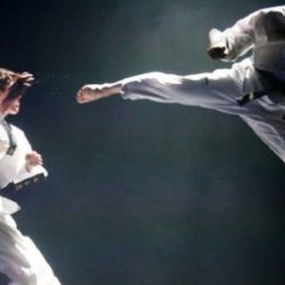 Artes martziales, su taekwondo.