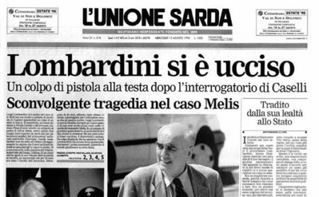 11.08.1998: Lombardini si ochiet a manu sua belle in pùblicu