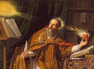 28.08.430 – Morit Santu Austinu de Ipona, interradu posca in Sardigna