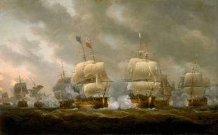 12.08.1708 – Bombas de sa flota inglesa contra sa tzitade de Casteddu