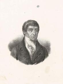 Domìnigu Albertu  Azuni, giurista e magistradu de gabbale, in su Rennu Sardu e in Frantza