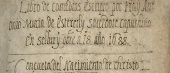 Sas rapresentaziones sacras de Antoni Maria de Estertzili