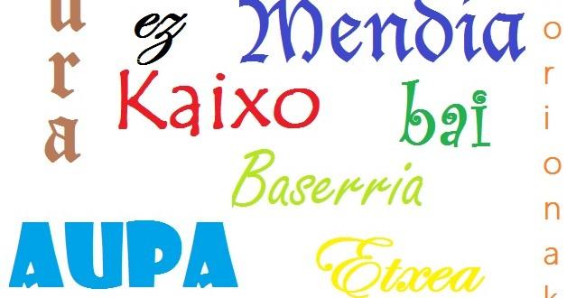 Su Paisu Bascu, limba e literadura