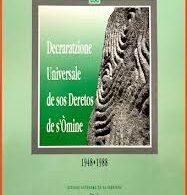 Tradutziones in limba sarda.  Sa Decraratzione Universale de sos Deretos de s Òmine.