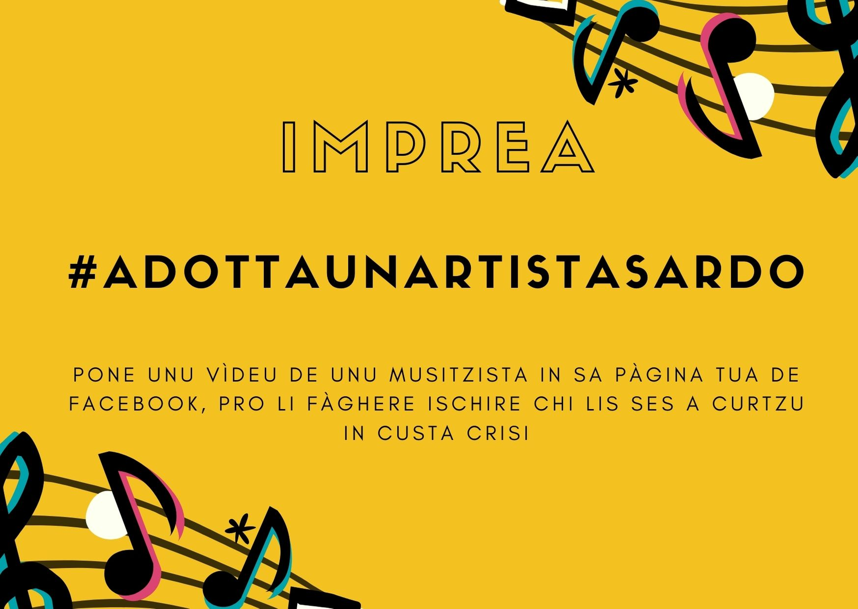 #adottaunartistasardo: pro amparare chie faghet arte in Sardigna