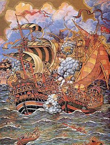 14 de trìulas, Càralu imperadore conchistat a Sa Goleta
